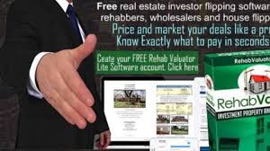 free real estate investor flipping software for rehabbers