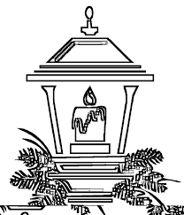 light christmas candle coloring pages download u0026 print