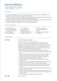 project manager resume project manager cv exles and template