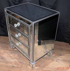 Mirrored Night Stands Nightstands Mirrored Tv Cabinet Furniture Vanity Mirror