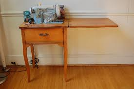 Vintage Singer Sewing Machine Cabinet Home Design Sofa Table From Old Singer Sewing Machine Legs In