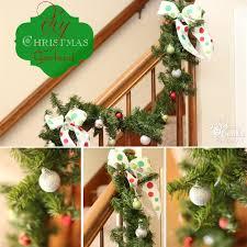 christmas decorating ideas to make a christmas garland