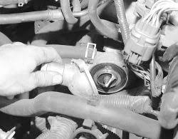 how to replace the thermostat on all 1996 2000 honda civic lx