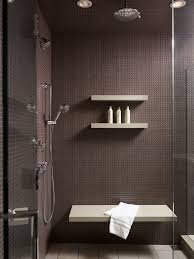 interior sophisticated masculine bathroom design with elegant