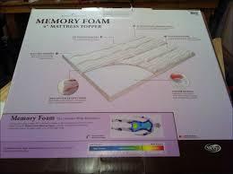 bedroom amazing walmart memory foam mattress topper walmart rv