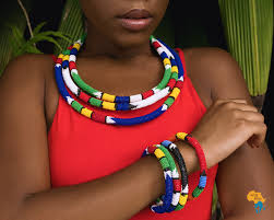 african beads necklace images South african beaded necklace and bracelet away to africa jpg