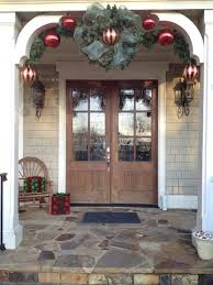 Outside Entryway Decor Best 25 Double Door Wreaths Ideas On Pinterest Spring Wreaths