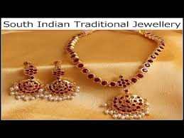 south indian traditional jewelery traditional gold jewellery