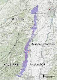Alsace France Map by Wine Maps U2014 Fernando Beteta Ms