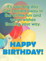 it u0027s your big day happy birthday card for kids birthday