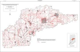 State Of Indiana Map by Dnr White U0026 West Fork White River Basin