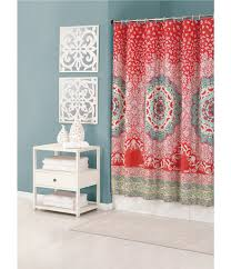 jessica simpson amrita medallion shower curtain dorm bathroom