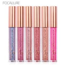 alibaba focallure rose gold tube style focallure chameleon liquid lipgloss lipstick