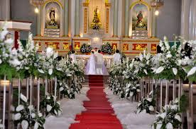 church wedding decorations catholic church wedding decorations decorating of party