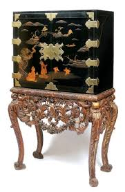 Asian Bar Cabinet A Chinoiserie Lacquered Cabinet Stand I Like Each Not