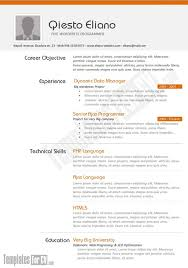 Post Resume For Jobs by It Cv Template Free Cv Resume Template 256 Free Cv Templates