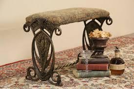 sold art deco antique 1920 u0027s cast iron harlequin upholstered