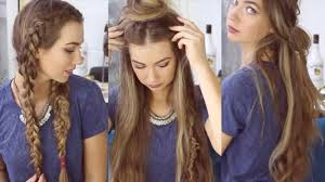 tumblr pubic haur styles tumblr pinterest cute easy school and boho quick hairstyles for