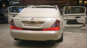 maybach landaulet maybach landaulet makes world debut at dubai motor show