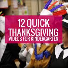 12 thanksgiving for kindergarten kindergartenworks
