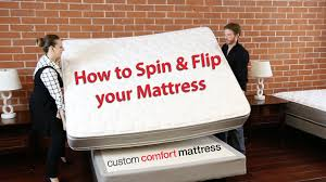 how to spin u0026 flip your mattress youtube
