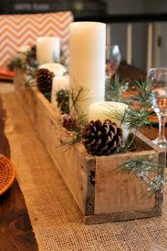 rustic christmas table centerpieces rustic christmas decorating