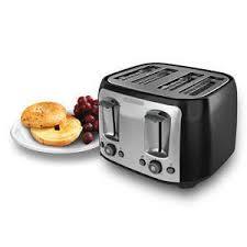 Walmart 4 Slice Toaster Black Decker 4 Slice Multi Function Toaster Bagel Toaster Black
