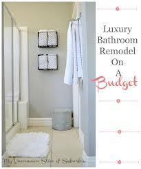 Bathrooms On A Budget Luxury Bathroom On A Budget Bathroom Trends 2017 2018