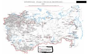 Map Of Ussr The Gulag Archipelago The Soviet Forced Labor Camp System Ussr