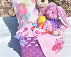 Baby Gift Baskets Baby Gift Basket Etsy