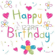 happy birthday card royalty free cliparts vectors and stock