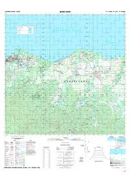 Solomon Islands Map Burns Creek Ministry Of Lands Housing And Survey