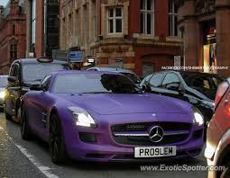 mercedes in manchester mercedes sls amg spotted in manchester united kingdom on 10 12 2013