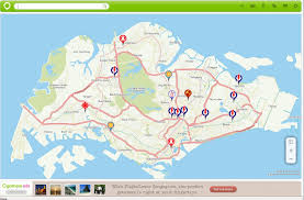 Map With Pins Singapore U0027s Election Cooling Off Day Singapore Diaries