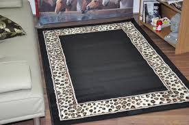 Leopard Kitchen Rug Area Rugs Marvelous Capri Modern Leopard Area Rug Geometric