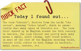 where the word biscuit comes from