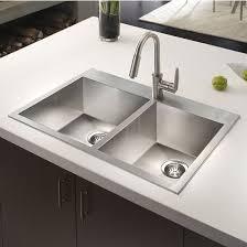 Single Bowl Kitchen Sink Top Mount Terrific Top Mount Kitchen Sinks Marceladick In Sink