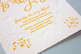diy letterpress fpo alison and gary wedding invitation
