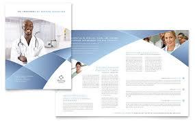 school brochure design templates nursing school hospital brochure template design by stocklayouts