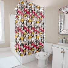 minnie mouse shower curtains zazzle