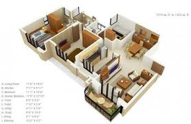 1500 sq ft home 3 bedroom apartment house plans square squares and bedroom