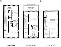 sarah jessica parker u0027s townhouse floorplan sarah jessica