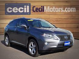 used lexus utility vehicle used 2014 lexus rx 350 fwd for sale in orange tx vin