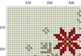 geometric nordic folk ornament pdf thread studio