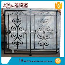 american simple ornamental used security antique welded window bar