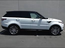 range rover sport white 2014 land rover range rover sport supercharged dynamic package for