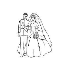 dessin mariage coloriage mariage les beaux dessins de fêtes à imprimer et colorier