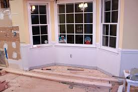 How To Make A Curved Bench Seat Building A Window Seat With Storage In A Bay Window Pretty Handy