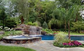 exterior design how to build backyard waterfall for charming