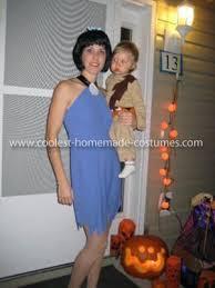 Pebbles Bam Bam Halloween Costume Coolest Rubble Family Costume Costumes Flintstones Costume